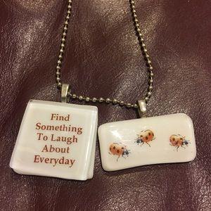 🐞 Ladybug necklace 🐞